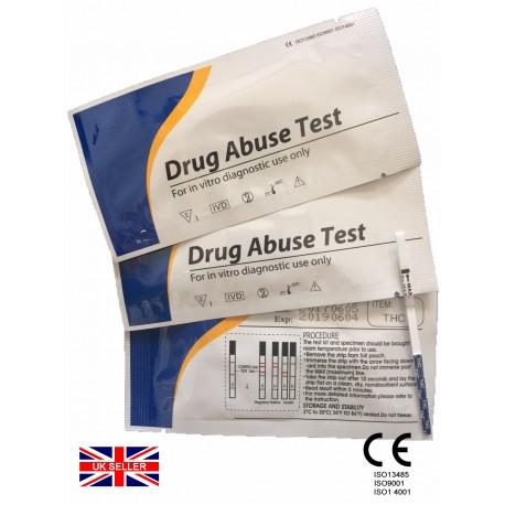 2x THC Cannabis Rapid Urine Test Strip