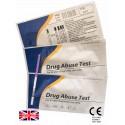3x Benzodiazepines (BZO) Rapid Urine Test Strip