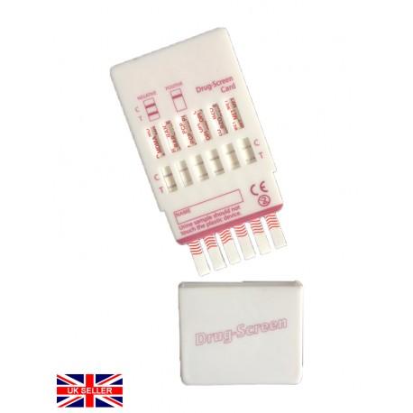 25x Kits. 6 in 1 Urine Drug Testing Kit