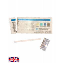 25x Alcohol Saliva Test Strip