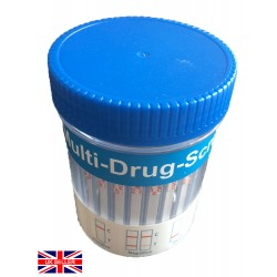 25x Cups. 10 in 1 Panel Urine Test Cups